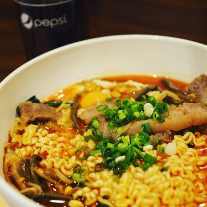 韓国鍋 ラーメン
